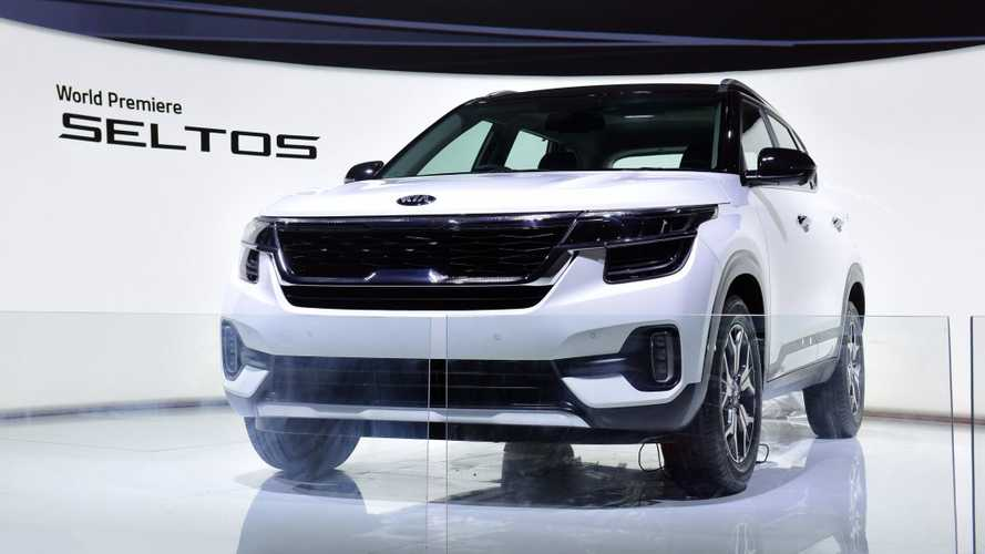 Kia Seltos: Neues Kleinwagen-SUV in Delhi vorgestellt