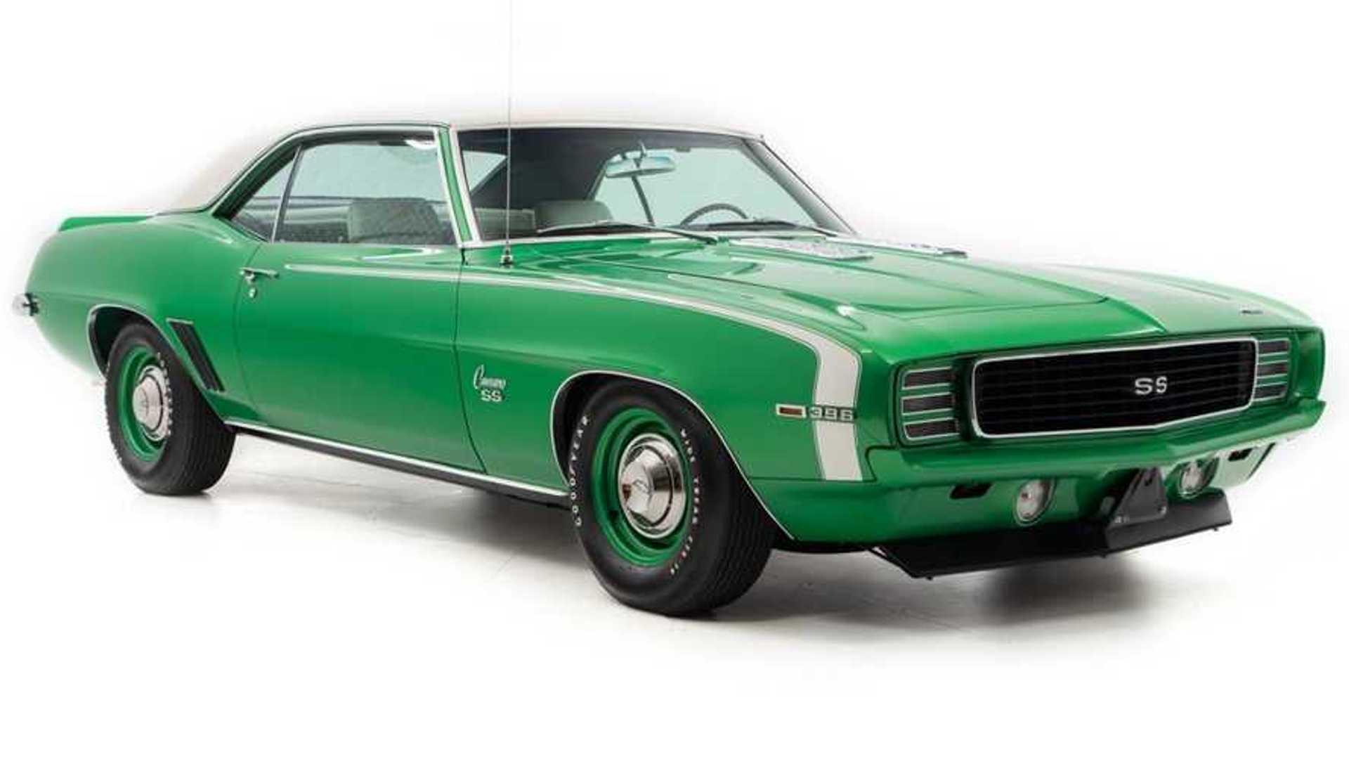 "[""Super Rare Vivid Rallye Green 1969 Chevrolet Camaro Is A Stunner""]"