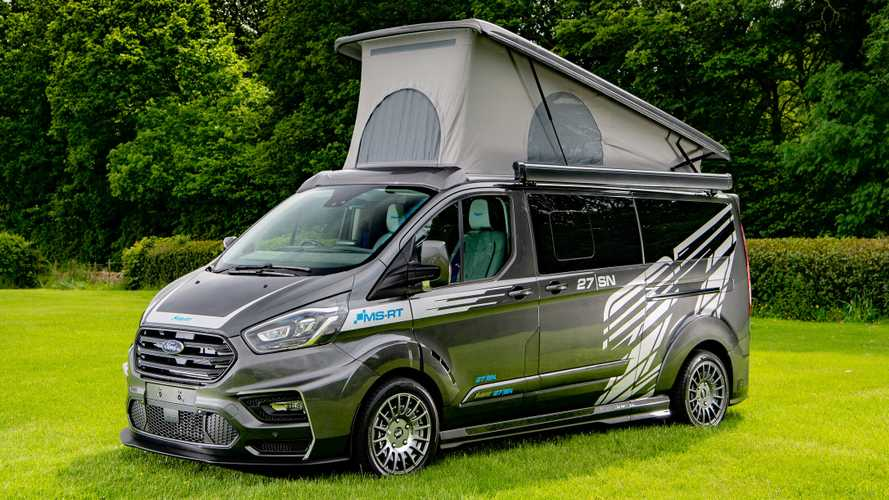 Ford Transit Camper Chock-Full Of Upgrades, Costs Nearly $100,000