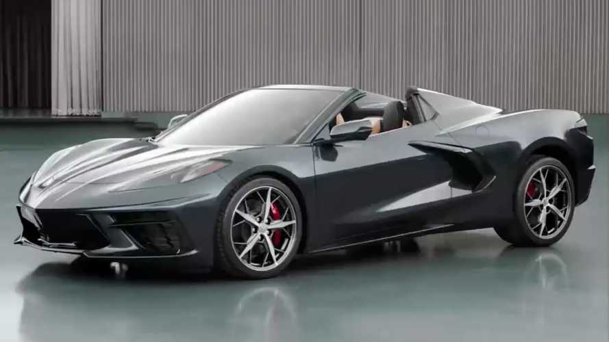 C8 Chevrolet Corvette Convertible Previewed At End Of Reveal