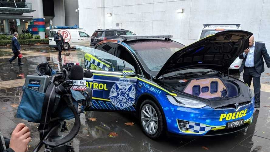 Victoria Police Put Tesla Model X Into Operational Fleet