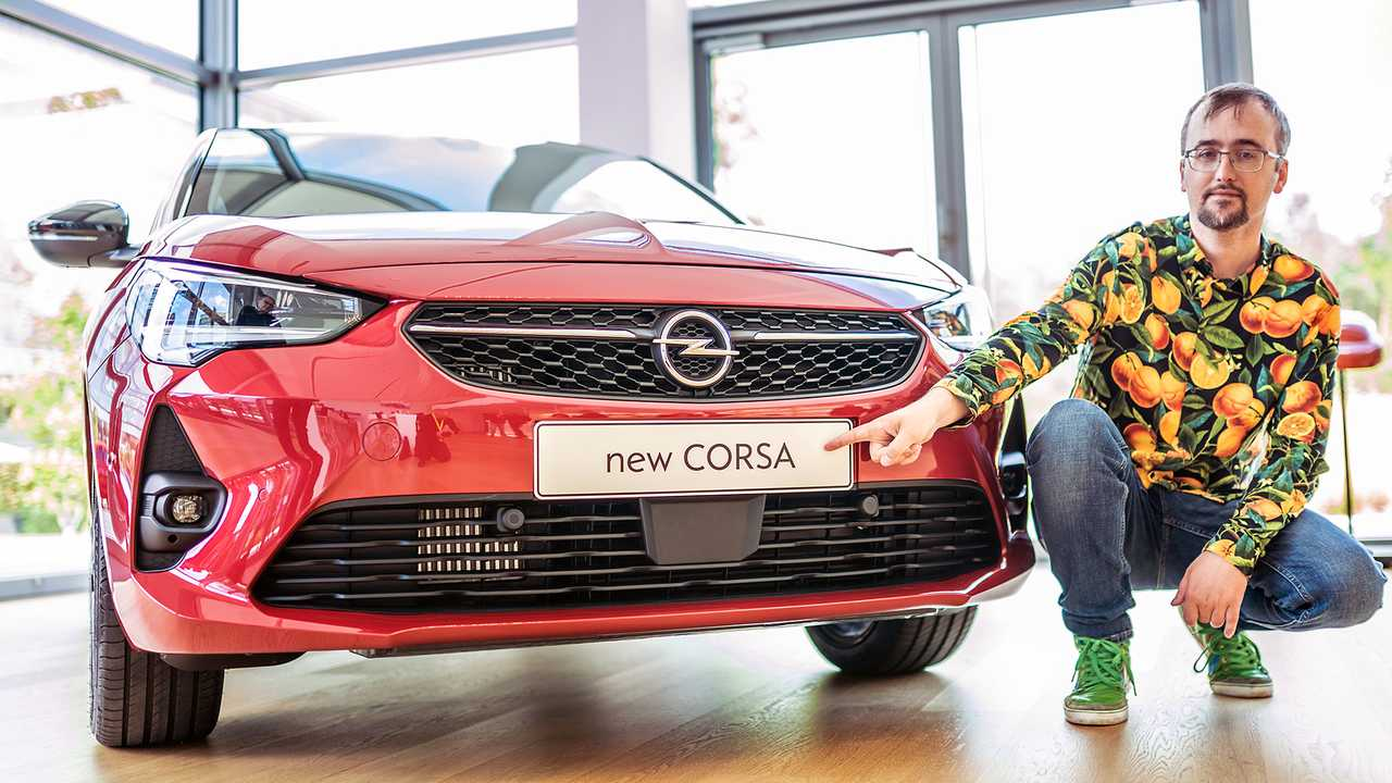 Opel Corsa (2019) Sitzprobe