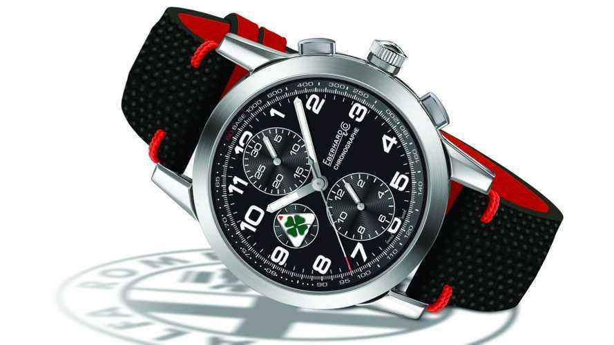 Alfa Romeo, ora è anche un cronografo