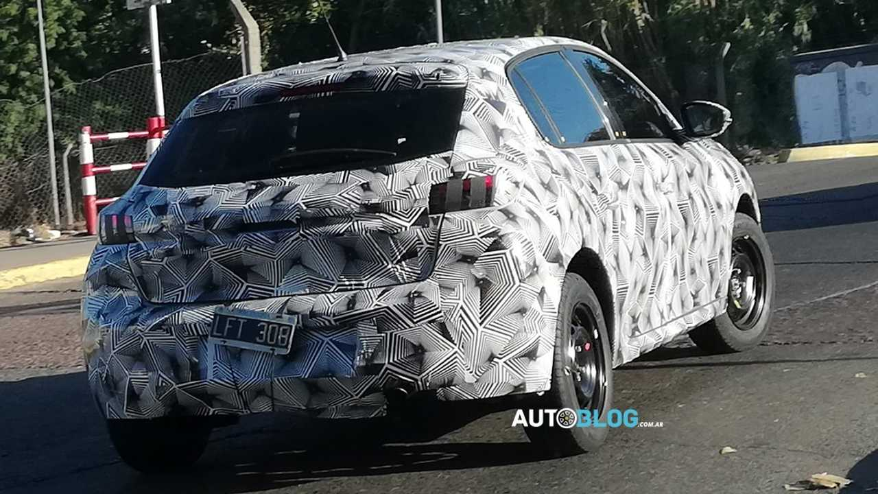 Peugeot 208 - Novos flagras na Argentina