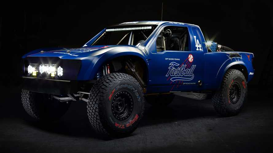 Ford Raptor Trophy Truck Owned By LA Dodgers Owner Is Gnarly