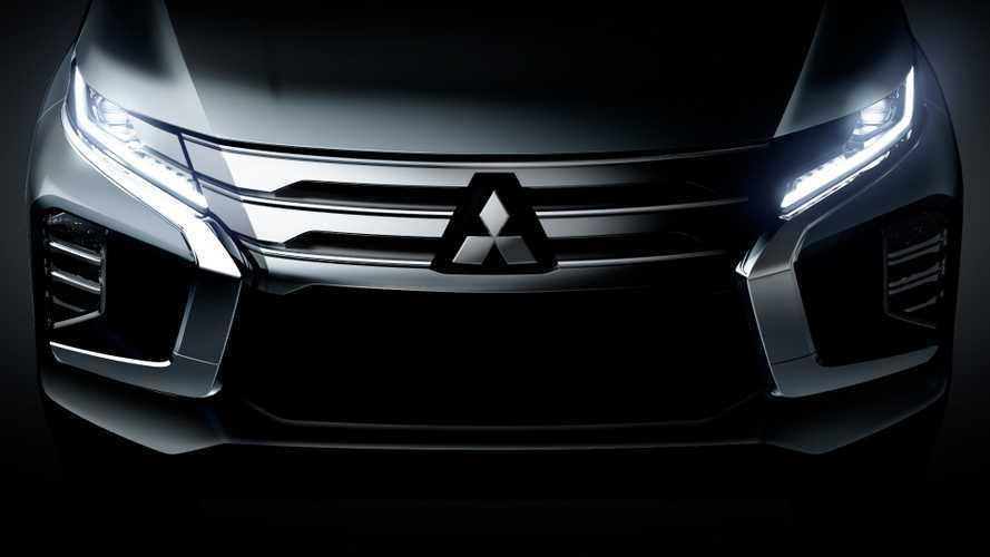 Mitsubishi представила тизер нового Pajero Sport