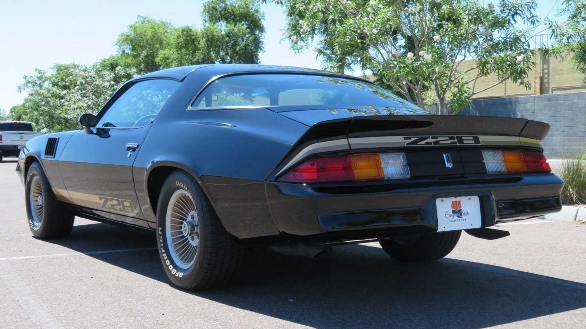 "[""Observe This Low-Mile 1979 Chevrolet Camaro Z28""]"