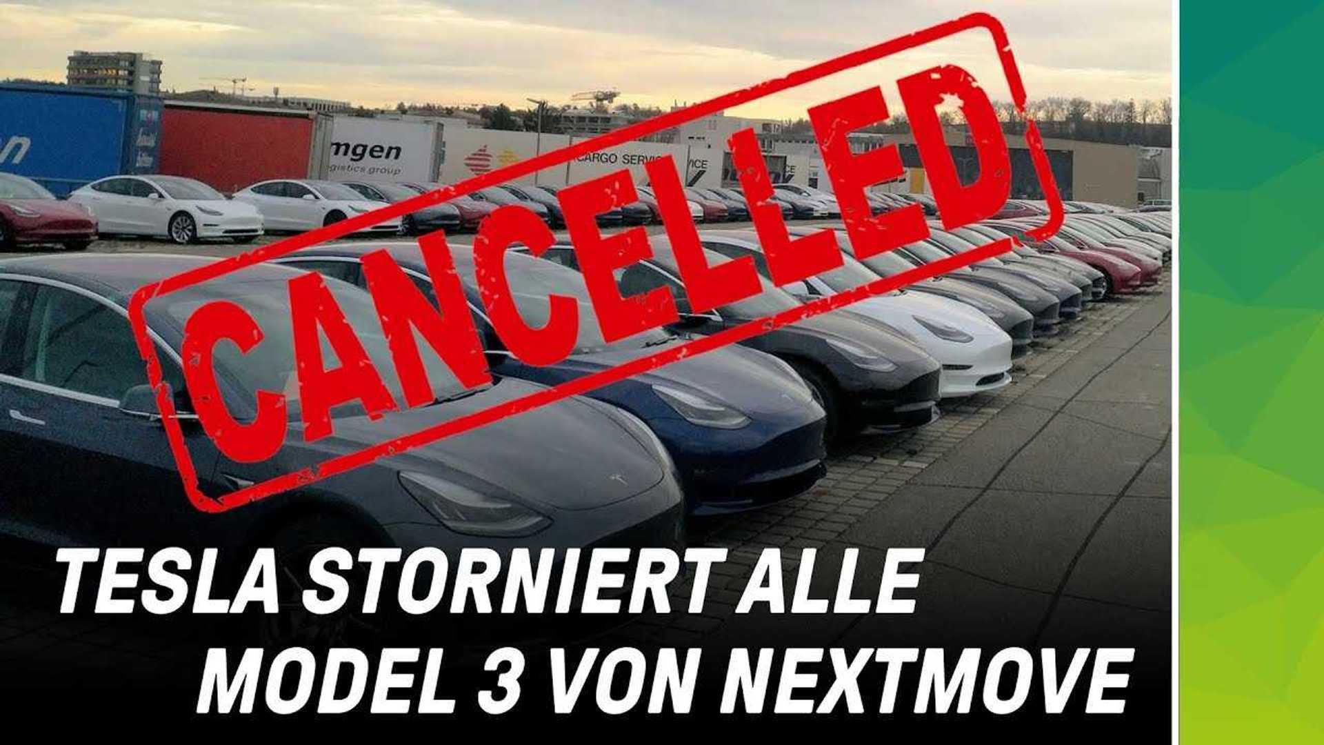 Update: Nextmove Cancels Big Tesla Model 3 Order: Cites Quality, Paint  Issues