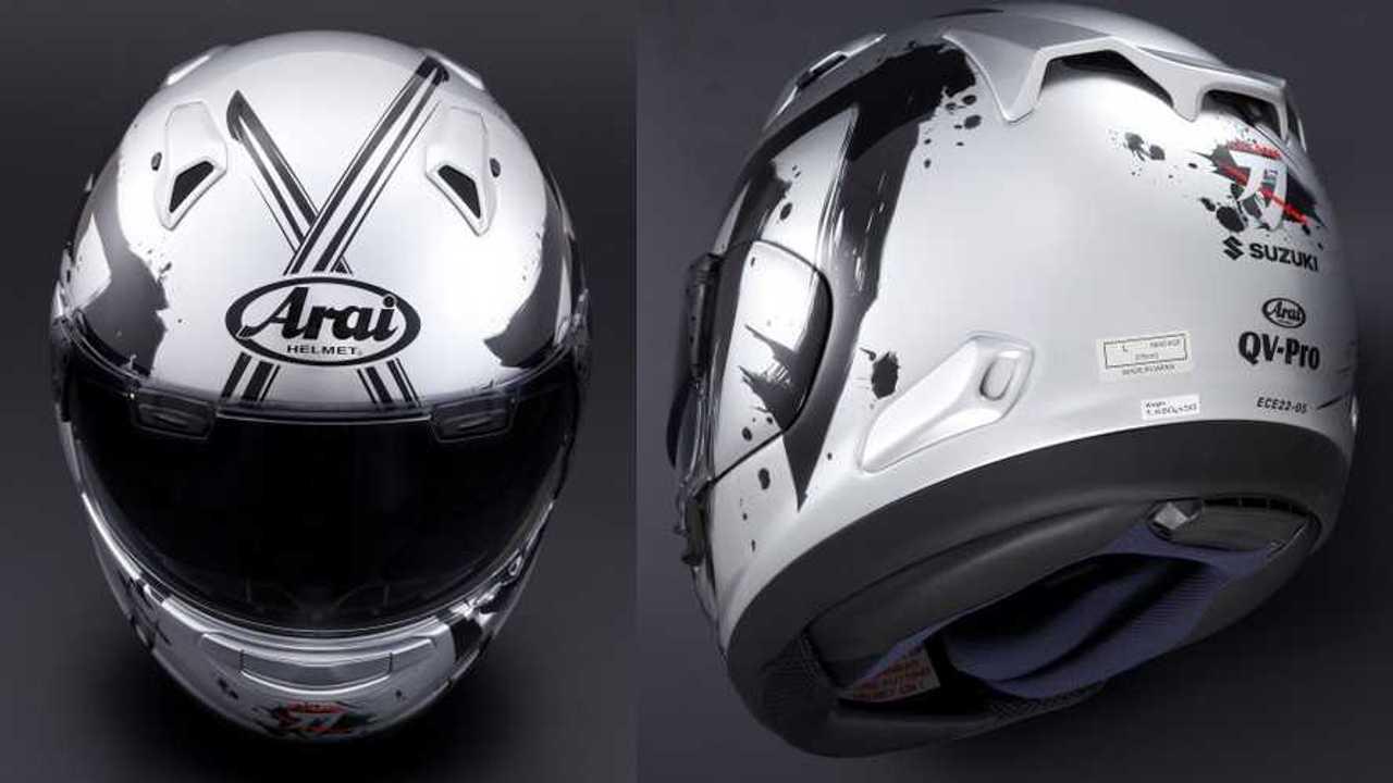 Arai QV-Pro Suzuki Katana Helmet