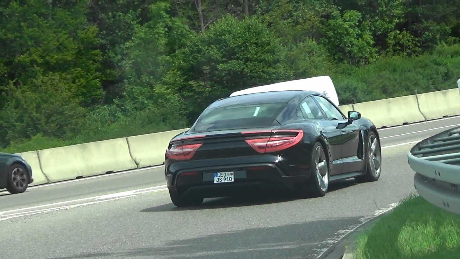 Porsche Taycan Prototypes Spotted Just Weeks Before Reveal: Videos