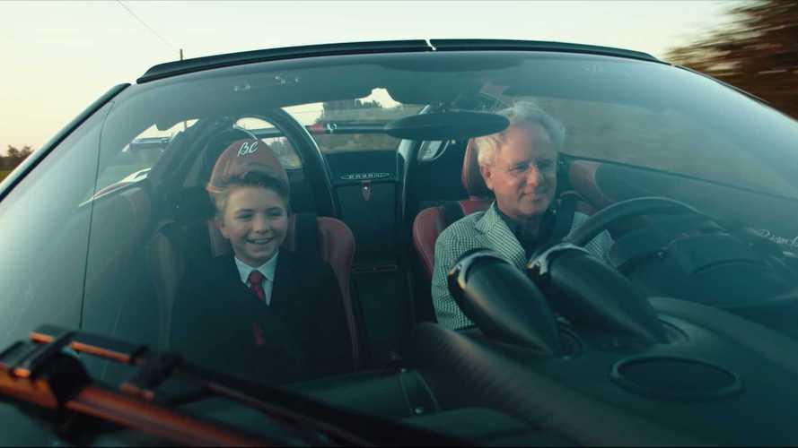 Pagani Huayra BC Roadster, trailer emozionante da non perdere
