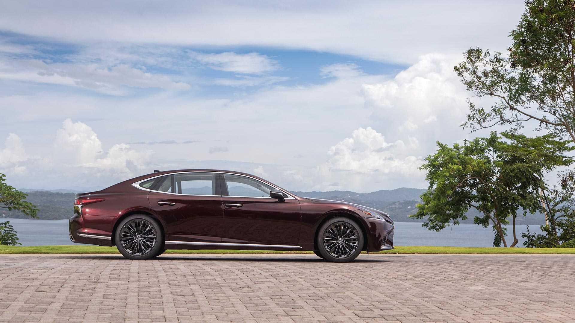 Lexus Ls 500 Inspiration Series Debuts Looking Stylish In