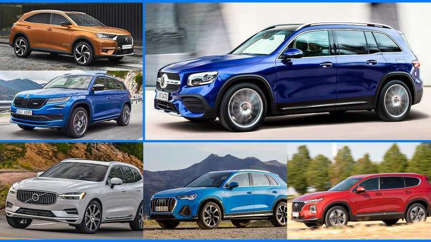 Mercedes GLB: Die besten Konkurrenten des großen, kantigen SUVs