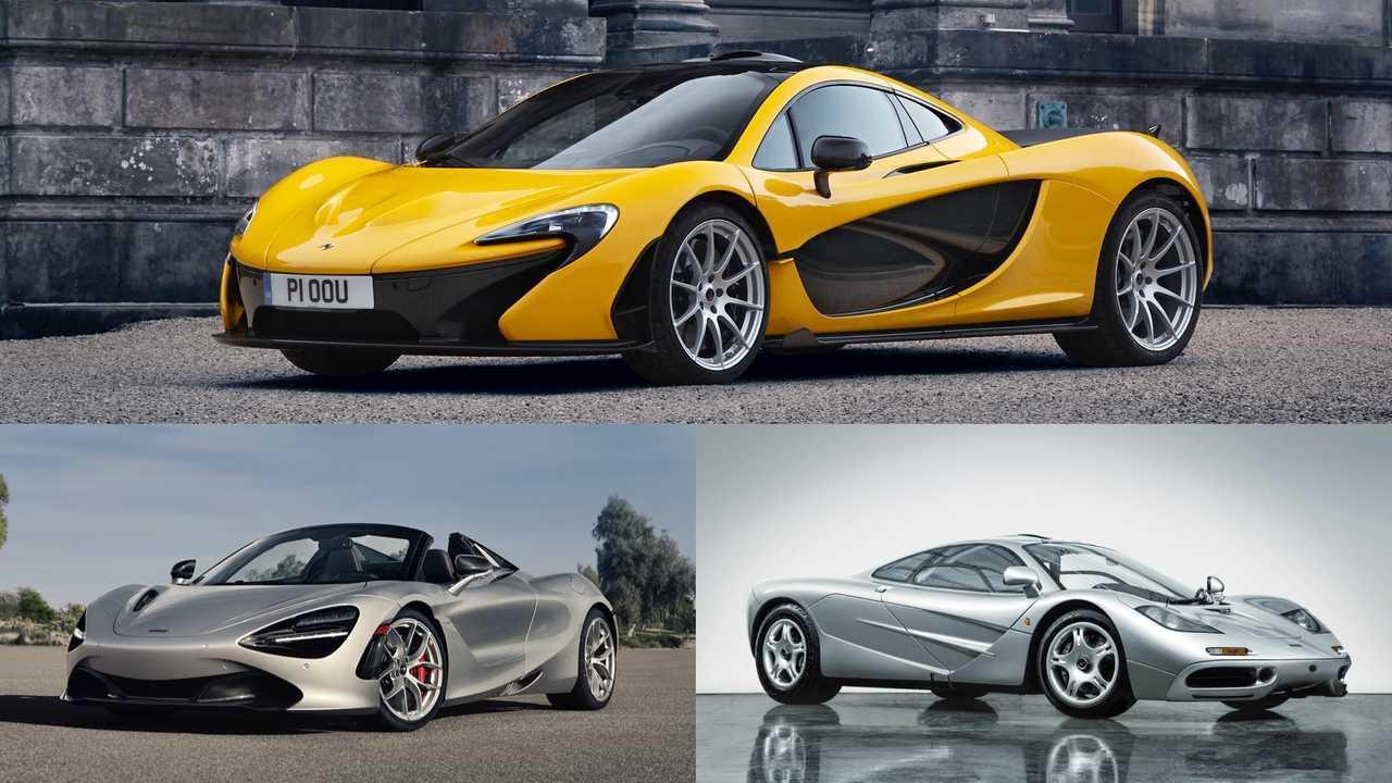 McLaren: 720S Spider, F1, P1