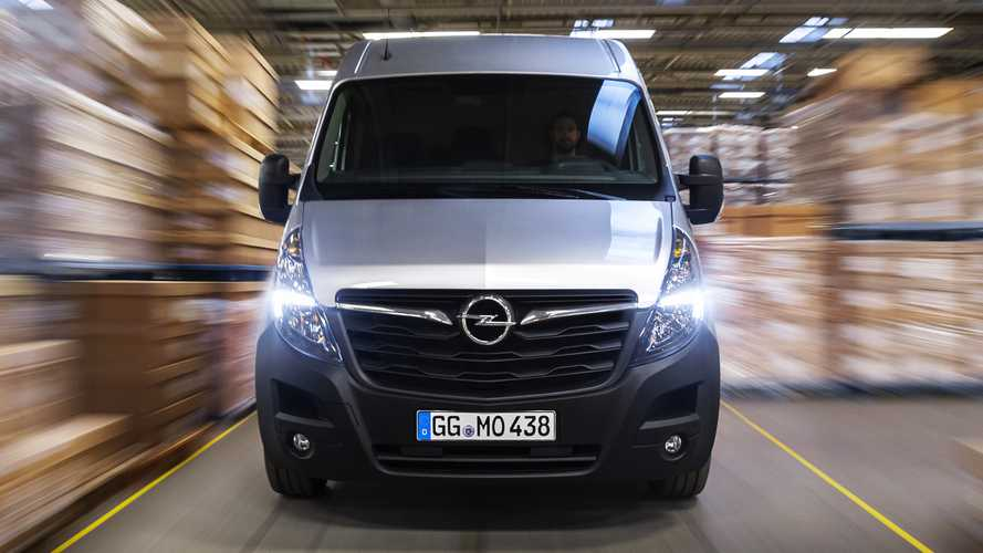 Opel Movano, aggiornamento 4.0