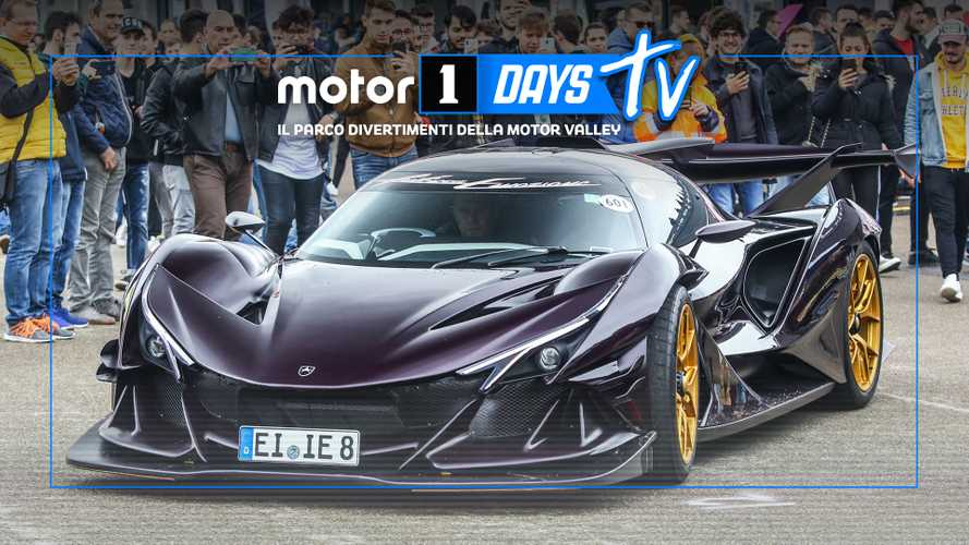 Apollo Intensa Emozione ai Motor1Days:
