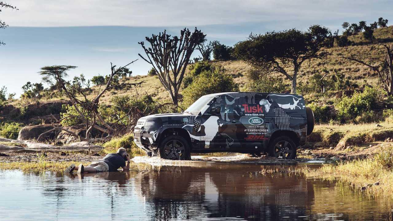 Land Rover Defender 2020 au Kenya