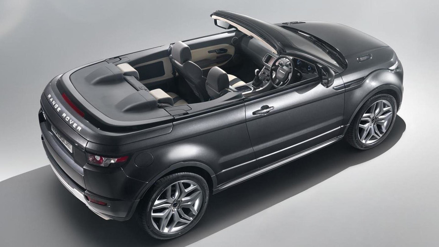 Range Rover Evoque Cabrio concept revealed