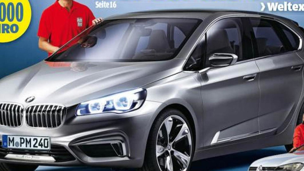 BMW 1-Series GT leaked photo? 13.9.2012