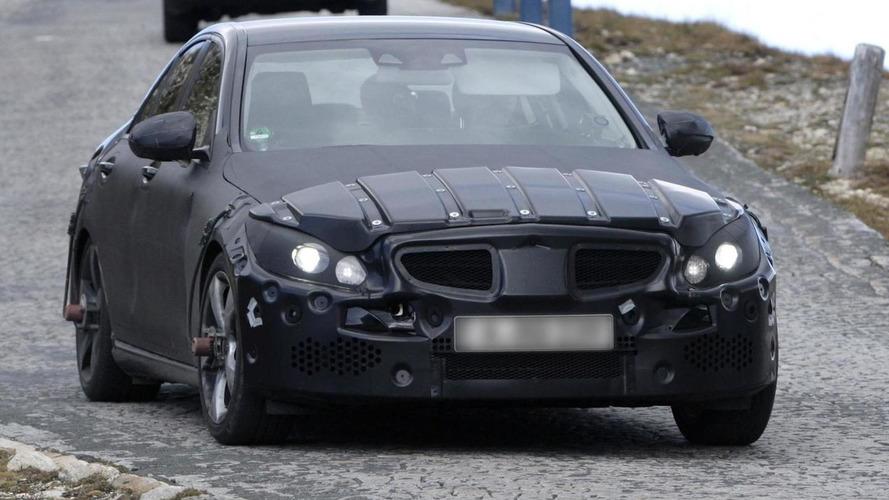 2014 Mercedes-Benz C-Class prototype spied