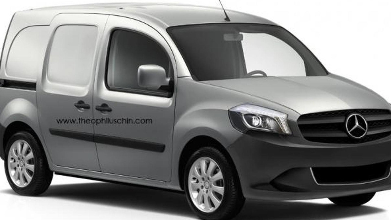 Mercedes-Benz Citan speculative rendering 12.03.2012