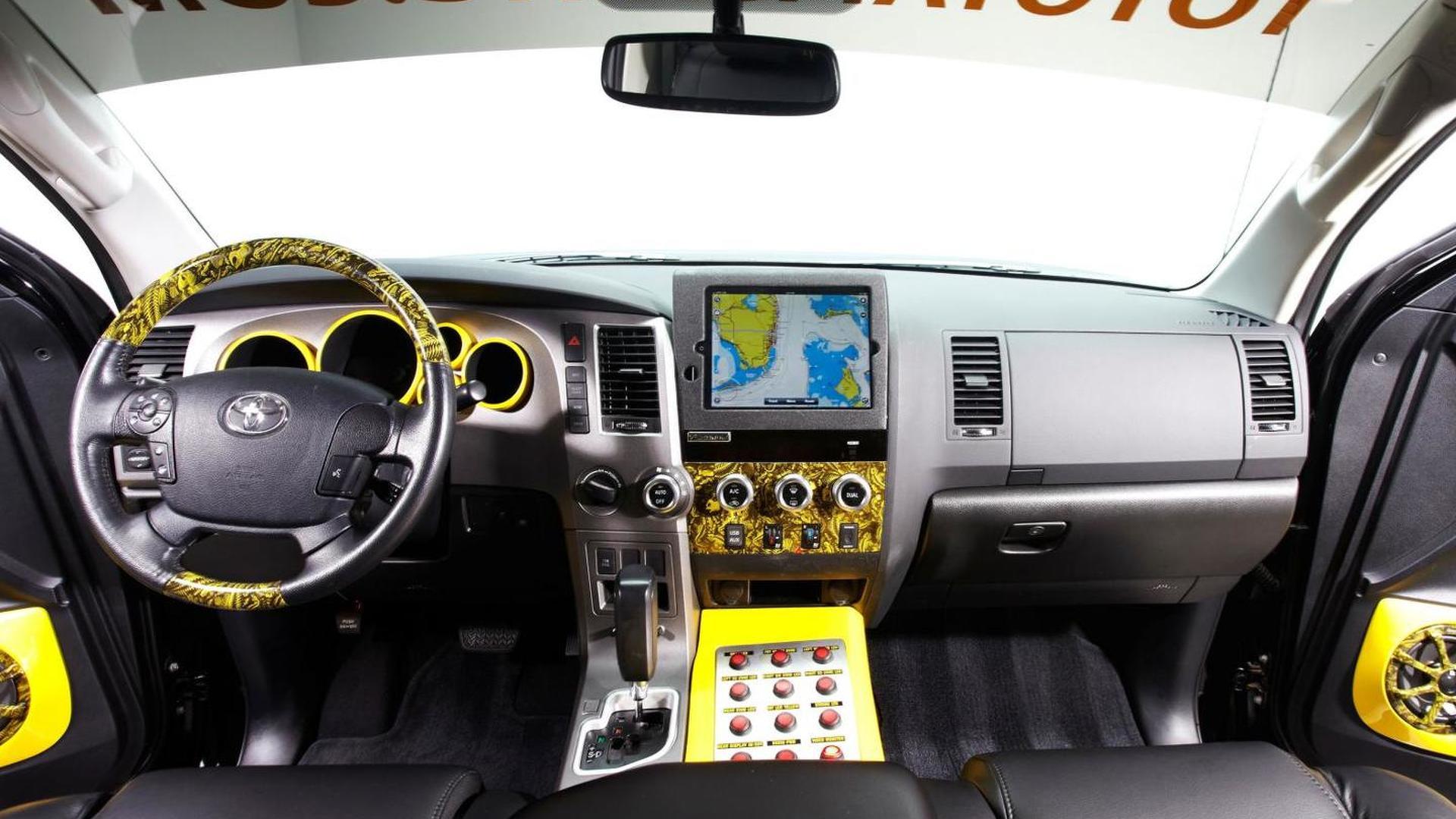 Custom Pro Bass Anglers Toyota Tundra to make debut at SEMA