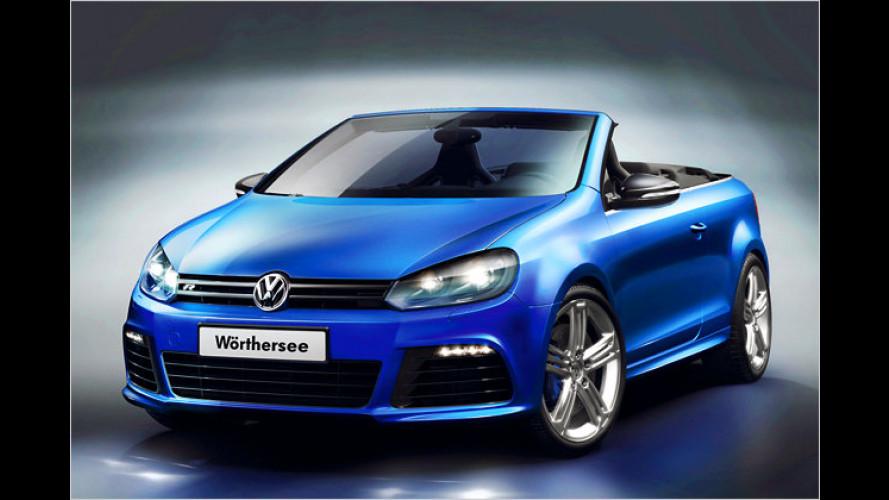 R ist offen: VW präsentiert den Top-Golf mit Stoffmütze