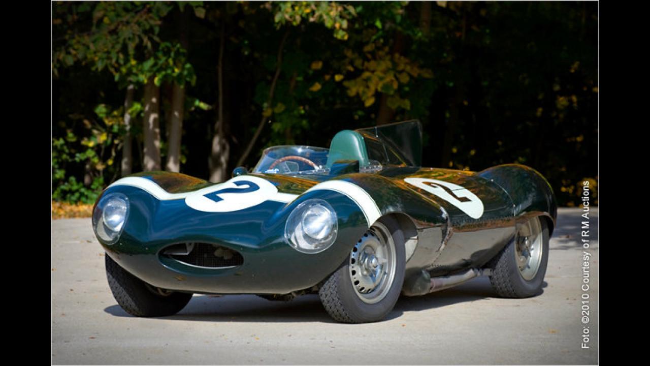 Jaguar D-Type, Baujahr 1955