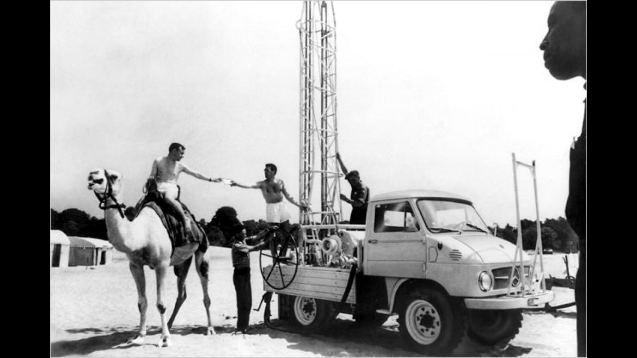 Unimog in der Wüste