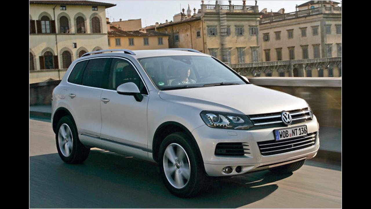 Alternative: VW Touareg V8 TDI Tiptronic