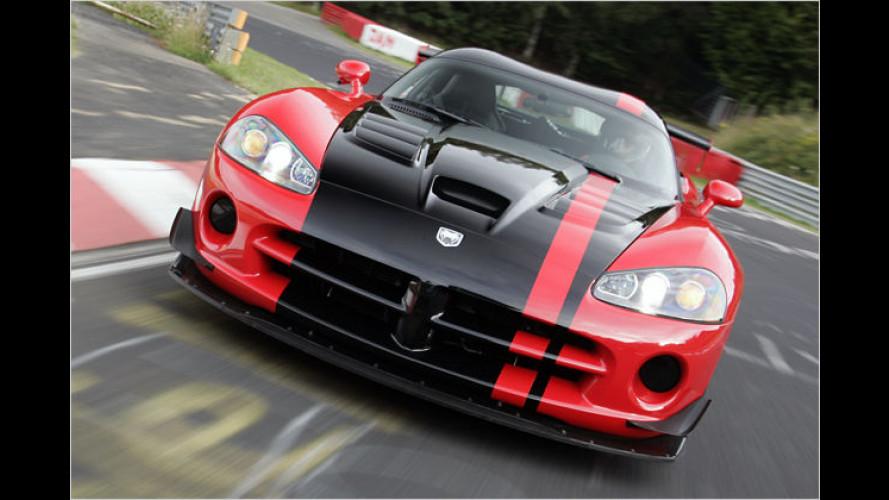 Dodge Viper fährt Runden-Rekord auf der Nordschleife