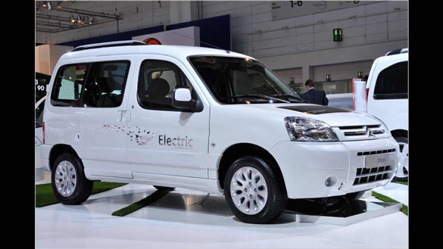 Citroën Berlingo First Electrique kommt Anfang 2010