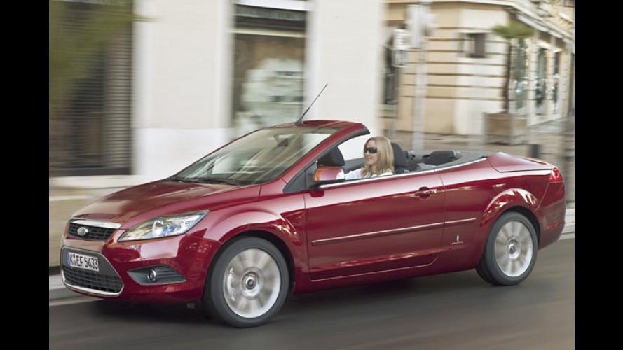 Renovierter Ford Focus: Facelift auch fürs Coupé-Cabriolet