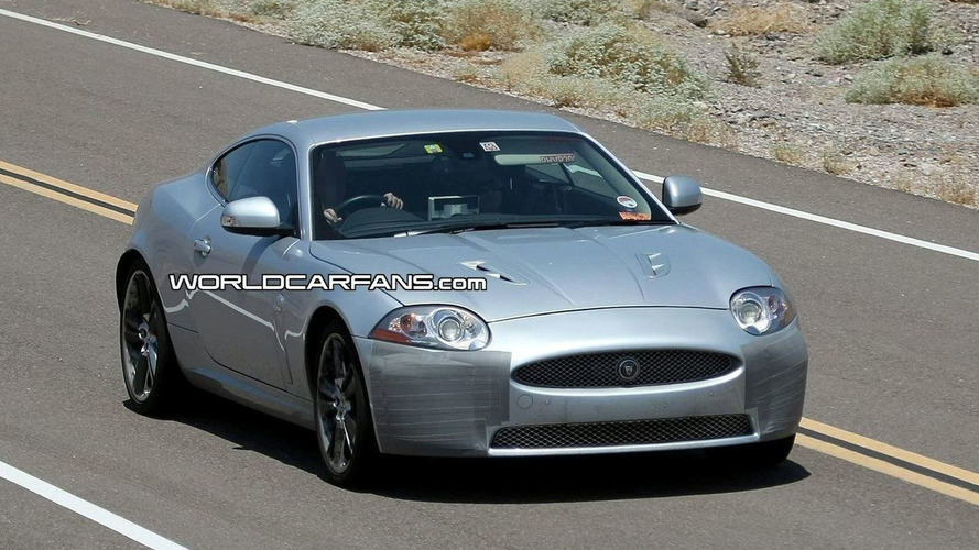 Yet More Jaguar XK and XK-R Facelift Spy Photos