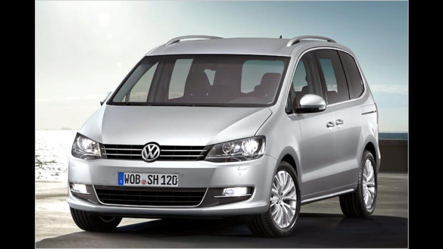 VW zeigt in Genf die Neuauflage des Familienvans Sharan