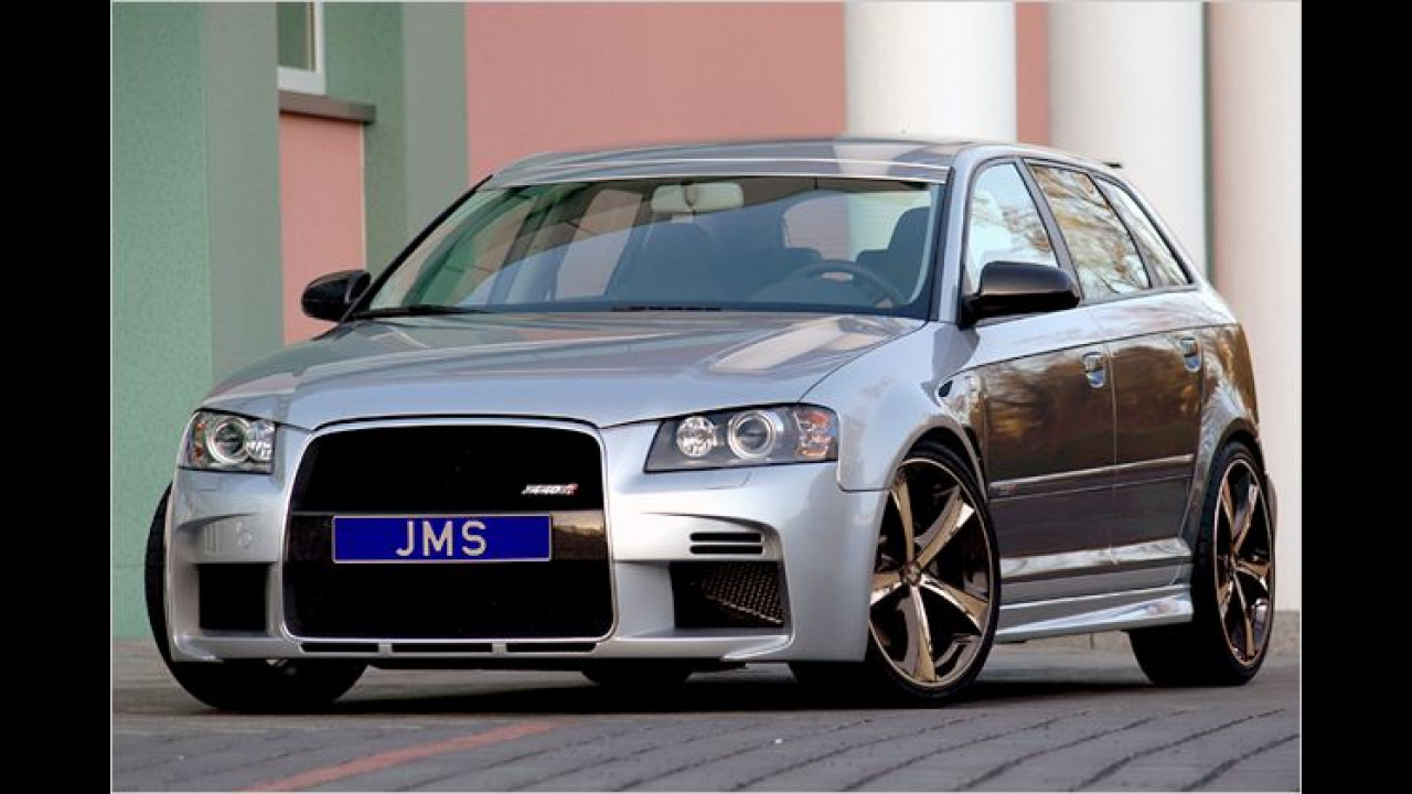 JMS kleidet Audi A3 ein