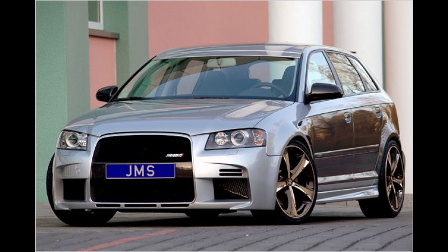 Neues Optik-Paket von Tuner JMS für Audi A3 Sportback