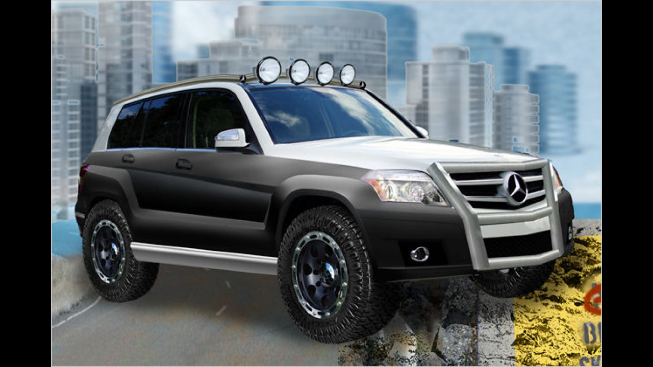 Legendary Motor Cars GLK Four Corners Rock Crawler
