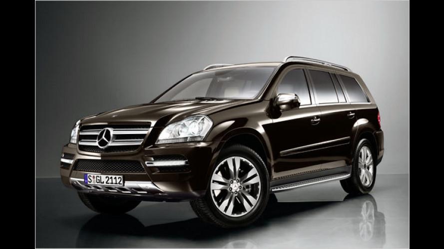 Facelift Mercedes GL: Auffrischung für das First-Class-SUV