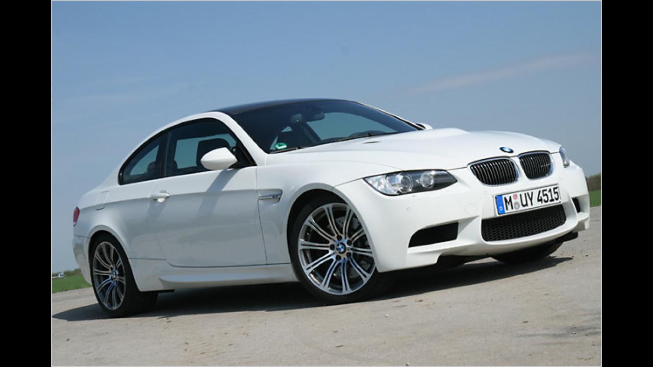 Platz 8: BMW M3 Coupé