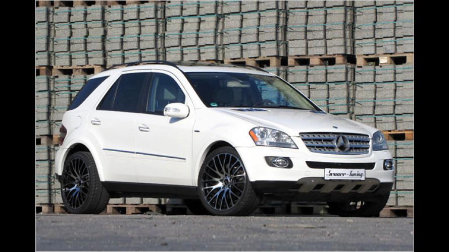 Dezent stämmiger: Mercedes ML 500 von Senner
