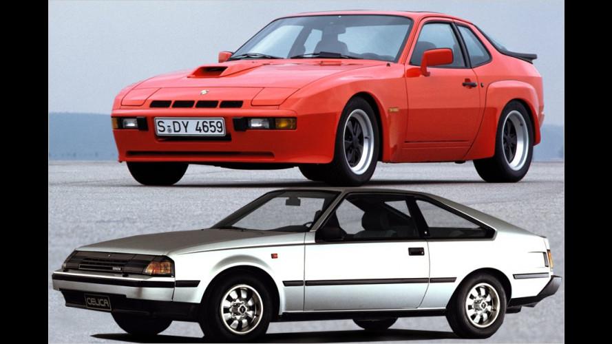 Die coolsten Sportwagen der 1980er-Jahre