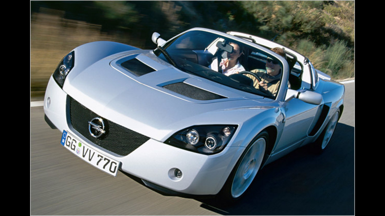 Lotus Elise und Opel Speedster