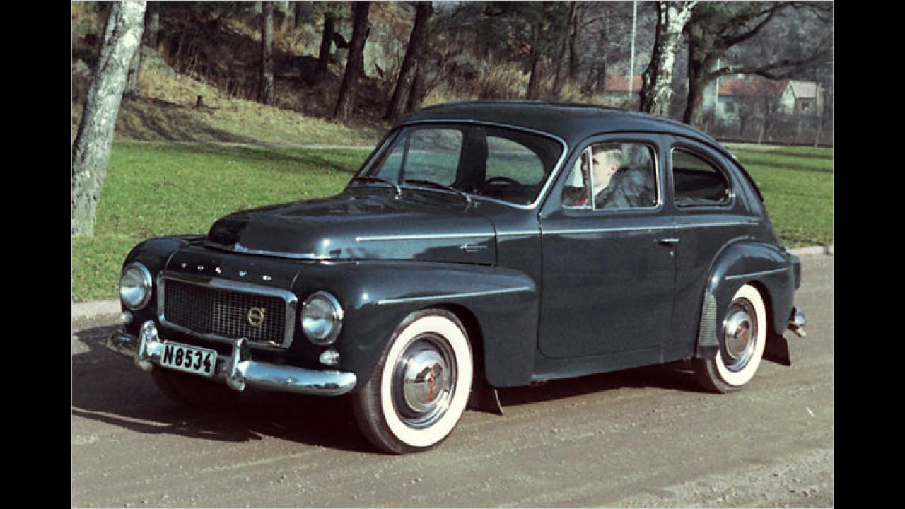 50 Jahre Volvo PV 544 (Buckel-Volvo)