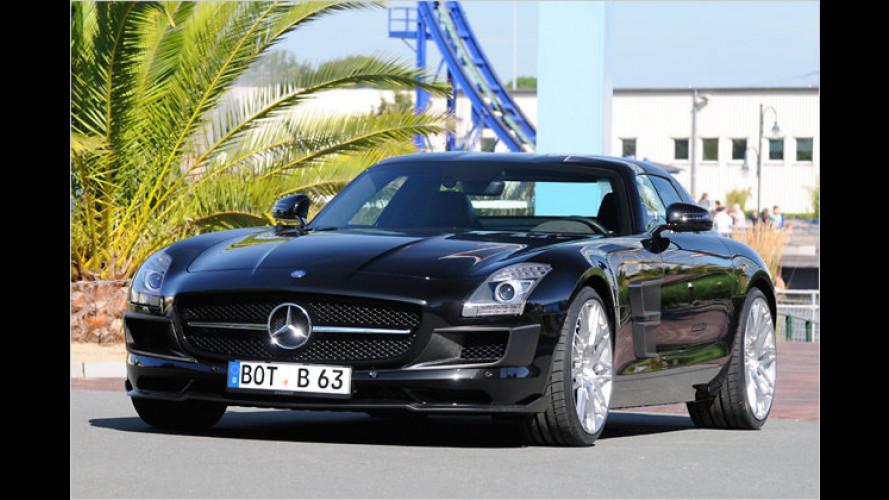 Flügeltürer entfesselt: Brabus tunt den Super-Benz
