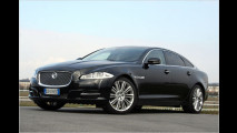 test jaguar xj neuer auftritt starke motoren sportliches handling