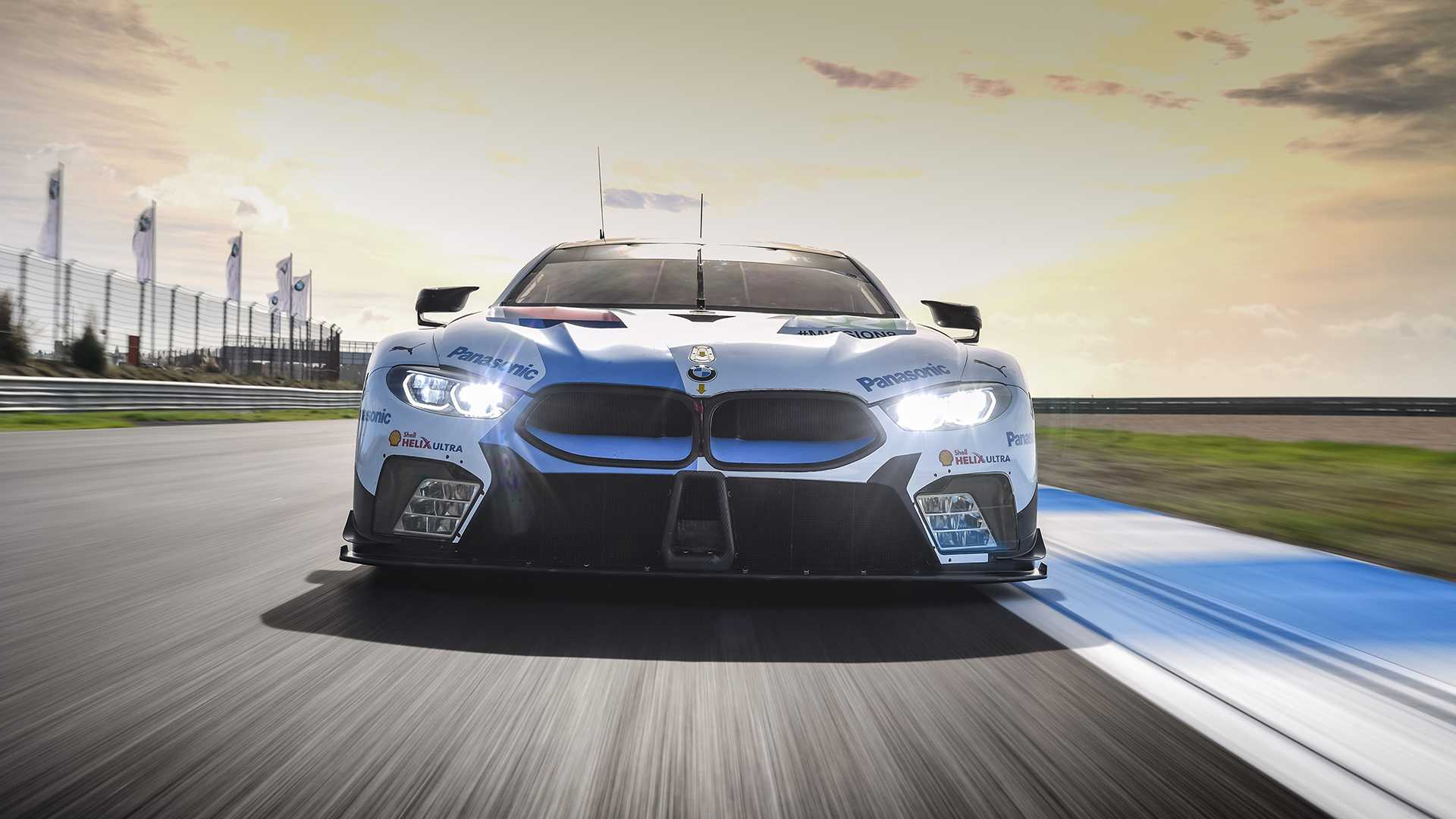 Bmw M8 Gte First Drive And M8 Prototype Ride Still Spinning