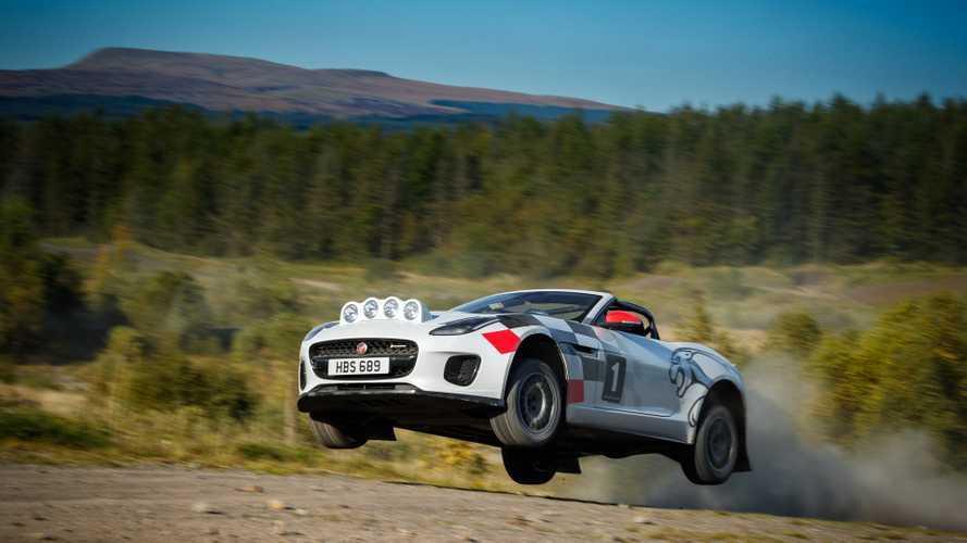Así es el Jaguar F-TYPE de rally, creado en honor del XK 120