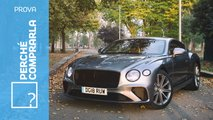 bentley continental gt prova video
