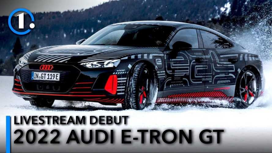 2022 Audi E-Tron GT debuts today: See the livestream